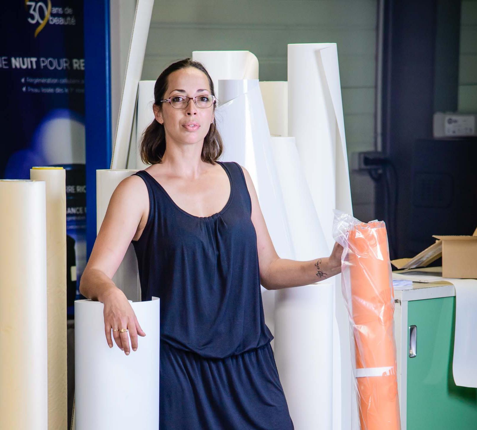 Sabrina / chef d'atelier objets et textile